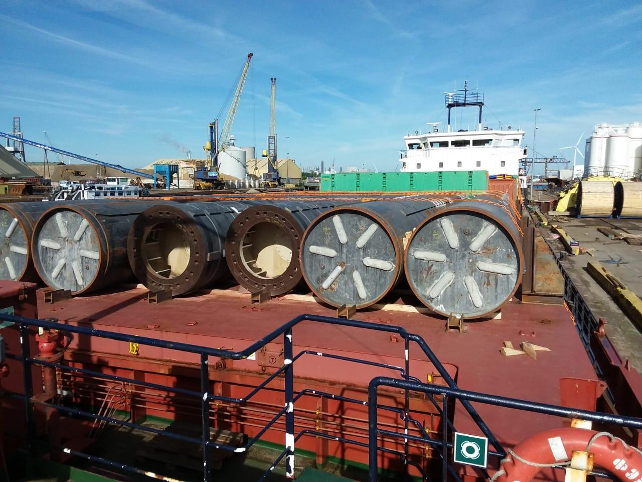 Перевозка морской платформы